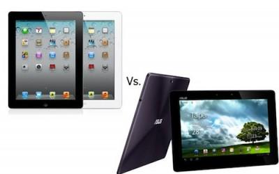 เลือกอะไรดีระหว่าง new iPad หรือ Android แท็บเล็ต ?